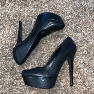 Jessica Simpson Shoes - Jessica Simpson Black Platform Stiletto - NEW - 7